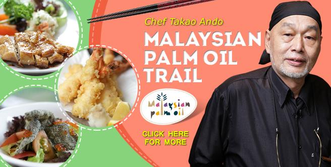 Malaysian Palm Oil Trail: Chef Takao Ando