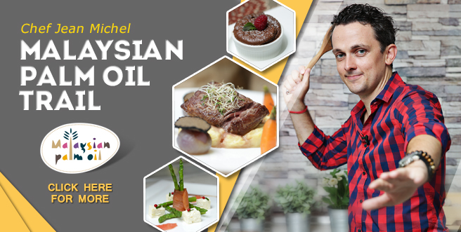 Malaysian Palm Oil Trail: Chef Jean Michel Loubatieres