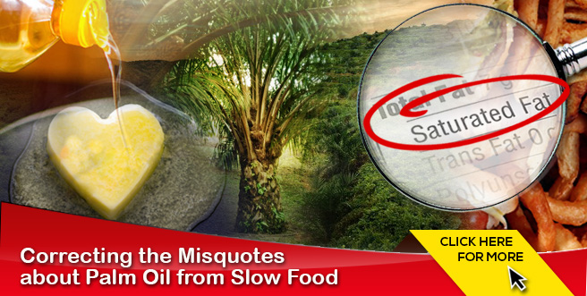 Correcting the Misquotes about Palm Oil from Slow Food