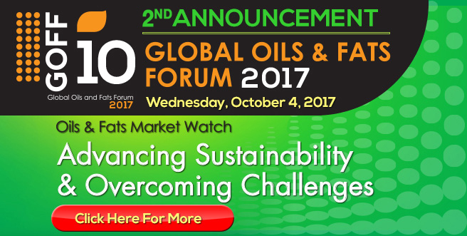 10th Global Oils and Fats Forum USA 2017