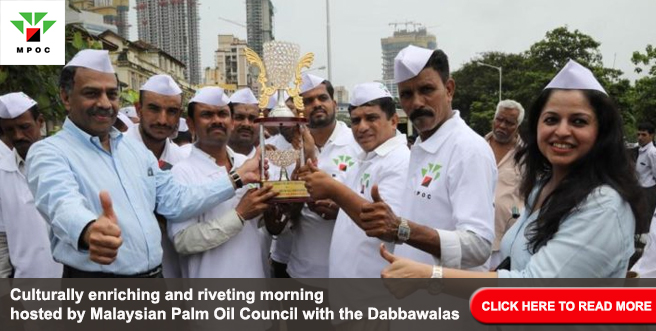 Culturally enriching and riveting morning hosted by Malaysian Palm Oil Council with the Dabbawalas