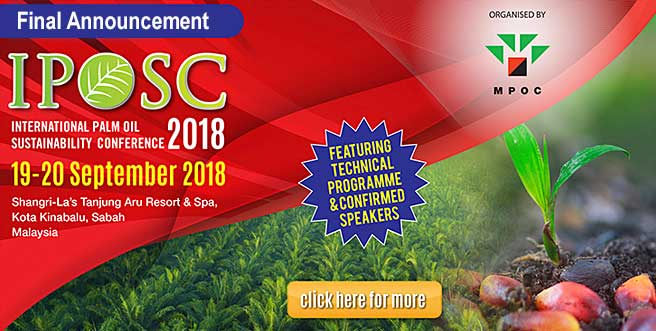 International Palm Oil Sustainability Conference (IPOSC) 2018