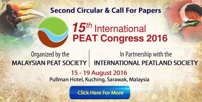 15th International PEAT Congress 2016