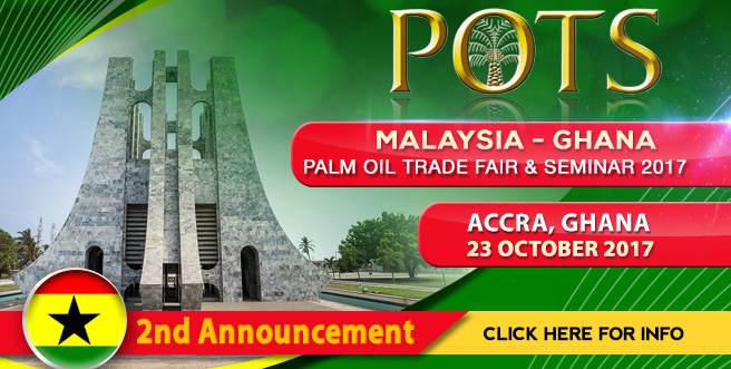 Palm Oil Trade Fair and Seminar (POTS), Ghana 2017