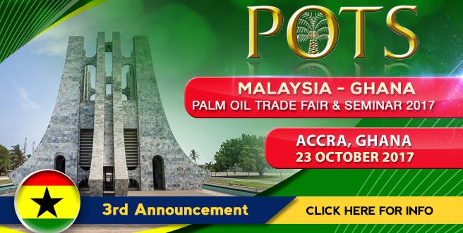 Palm Oil Trade Fair and Seminar (POTS), Ghana 2017
