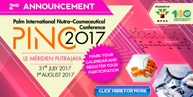 Palm International Nutra-Cosmeceutical Conference (PINC) 2017