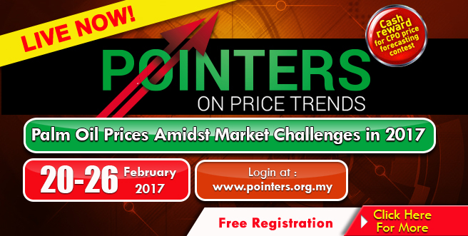 Palm Oil Internet Seminar (POINTERS) 20 – 26 February 2017