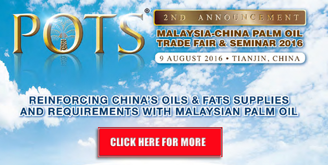 Palm Oil Trade Fair and Seminar (POTS) China 2016