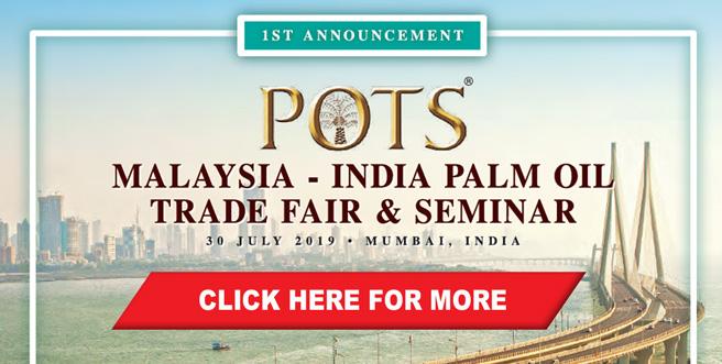 Palm Oil Trade Fair and Seminar (POTS), India 2019
