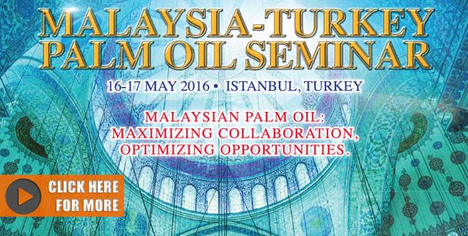 Palm Oil Trade Fair and Seminar (POTS) Turkey 2016