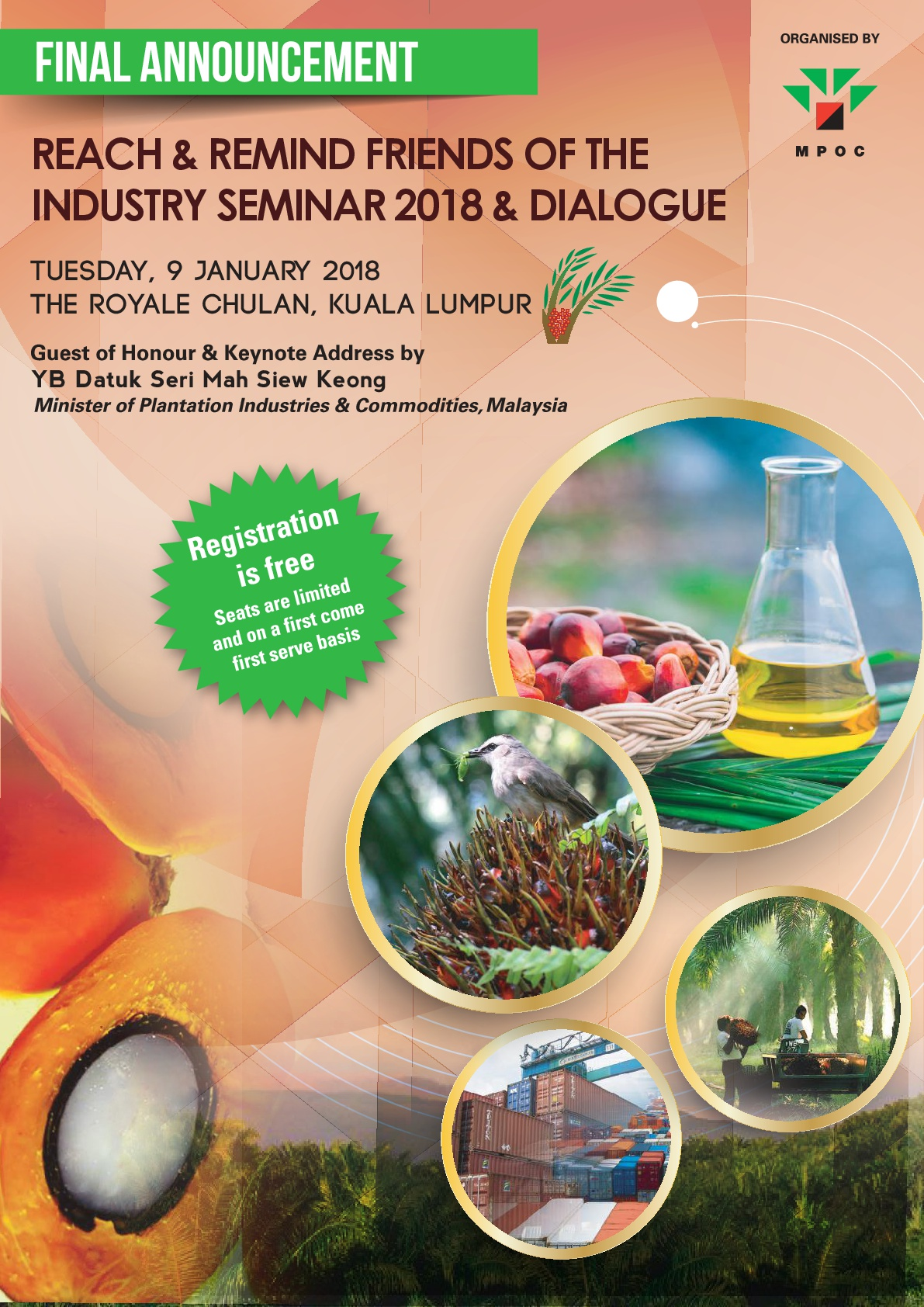 Reach and Remind Friends of the Industry Seminar 2017 and Dialogue