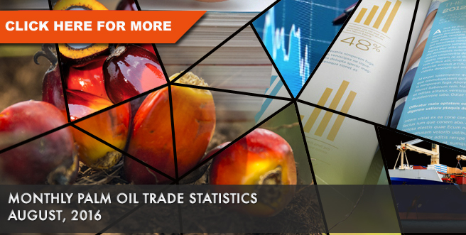 Monthly Palm Oil Statistics Aug 2016